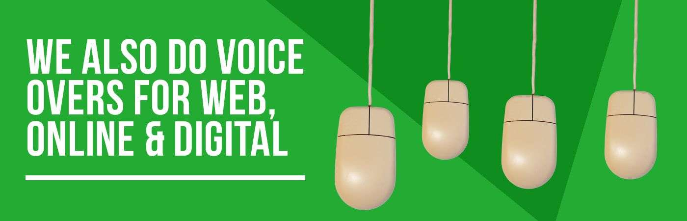 Voice Overs | On line | Digital